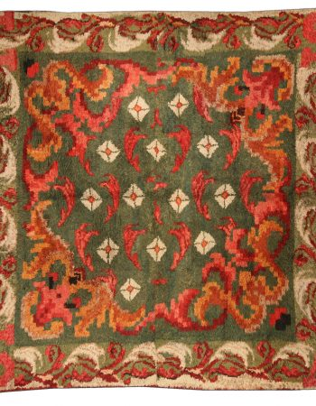 Vintage French fragment Rug BB4061