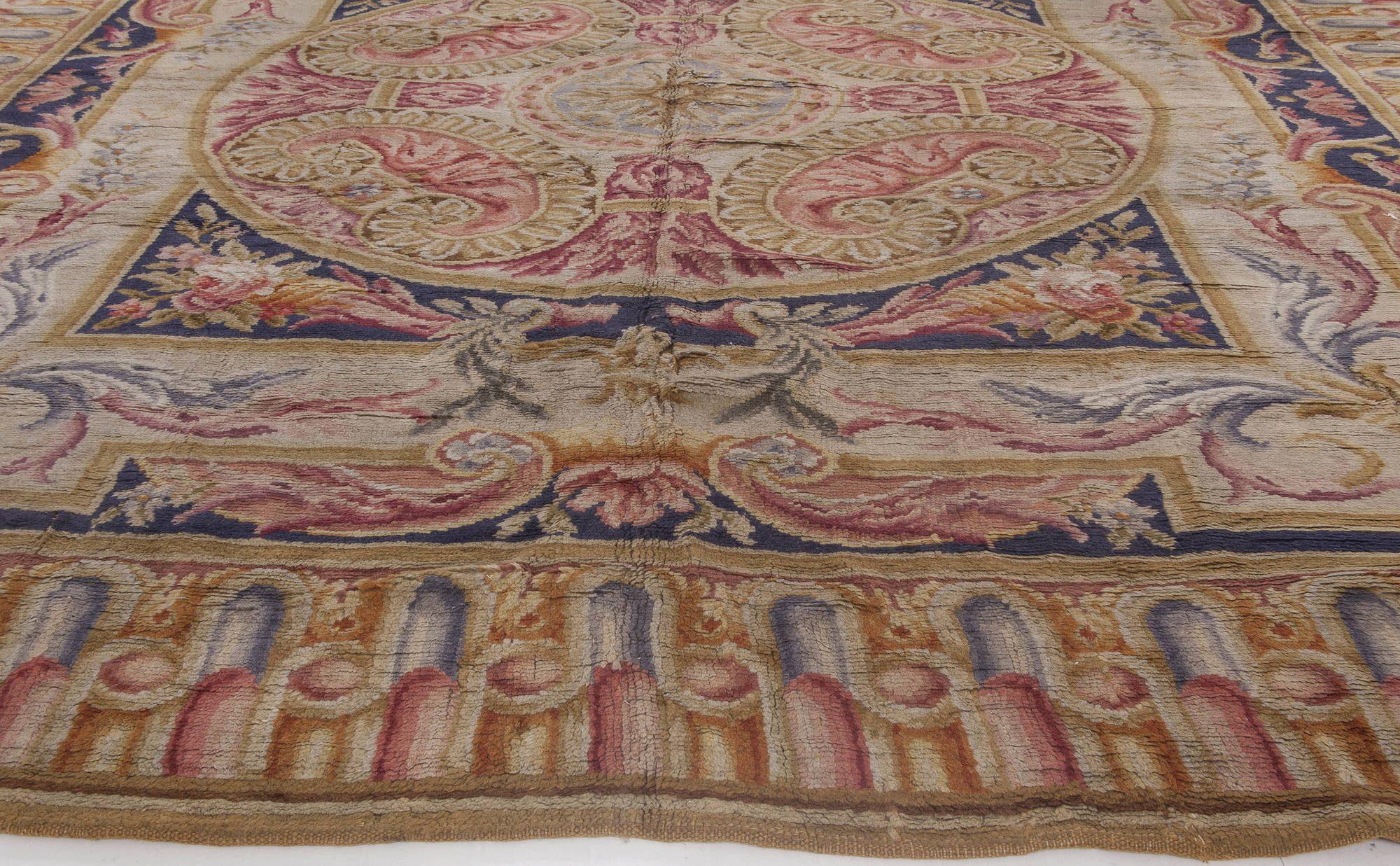 Antique Savonnerie Carpet BB1207
