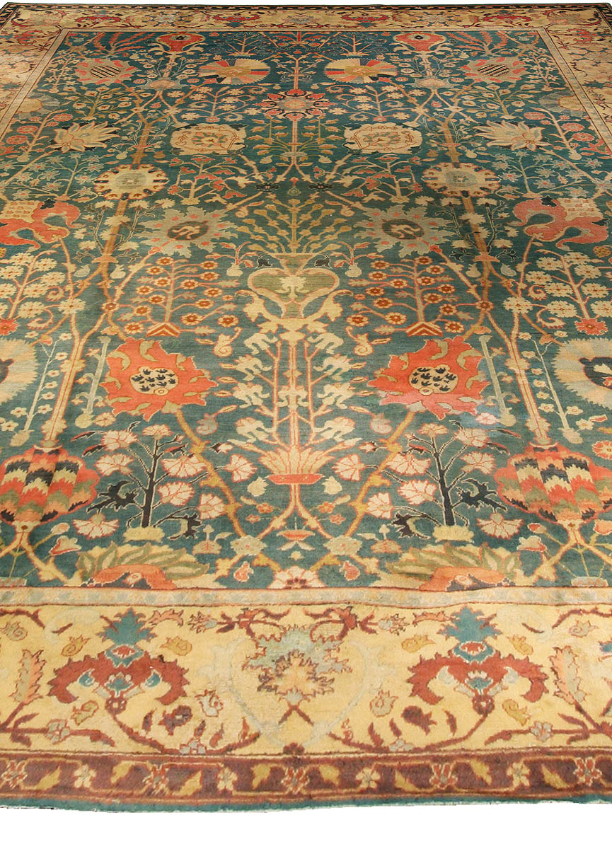 Antique Indian Carpet Bb3063 By Dlb