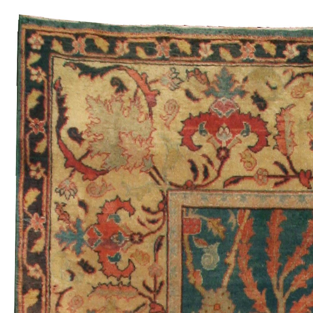 Antique Indian Carpet Bb3063 By Dlb