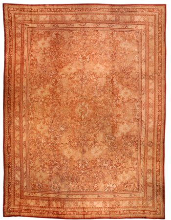 Antique Oushak Rug BB0897