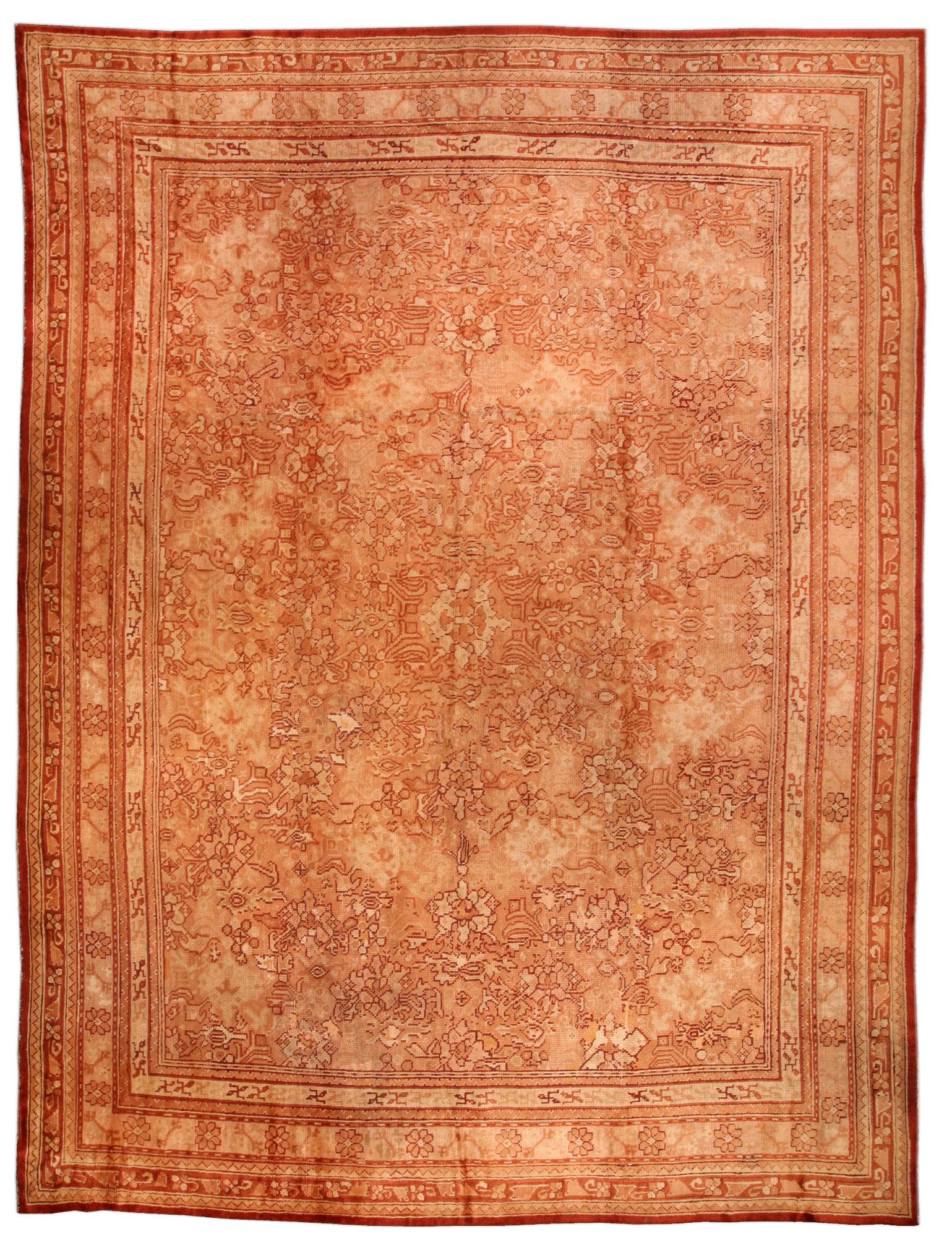 Antique Oushak Rug BB0897