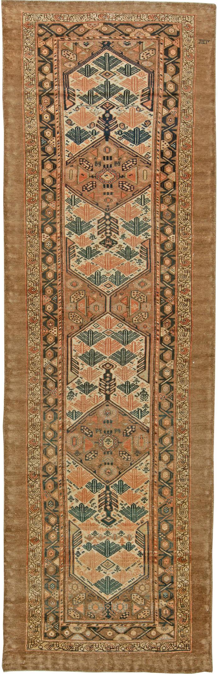 Antique Persian Hamadan Runner BB6111
