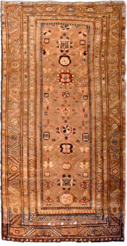 Antique Persian Hamadan runner BB3500