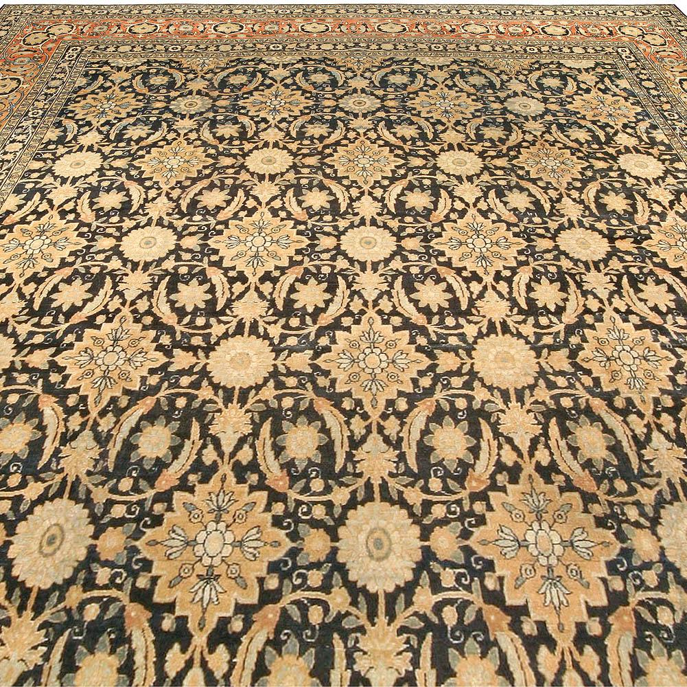 Antique Persian Kirman Carpet BB1687