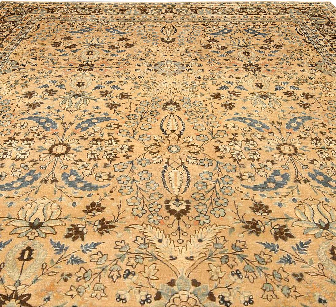 Vintage Persian Meshad Carpet BB3761