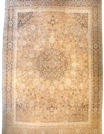 Oversized Antique Persian Tabriz Carpet BB0341