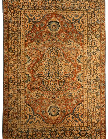 Antique Persian Kirman Carpet BB4125