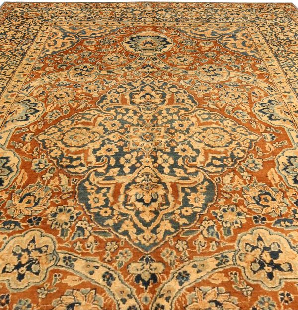 Antique Persian Kirman Carpet BB4125