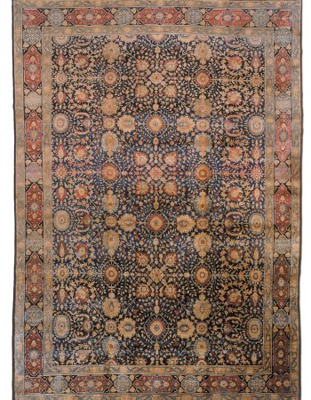 Antique Persian Tabriz Carpet BB1394