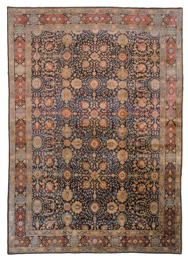 Antique Persian Tabriz Carpet BB1394