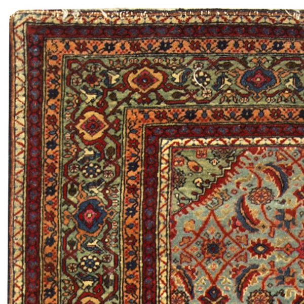Antique Persian Tabriz Rug BB5073