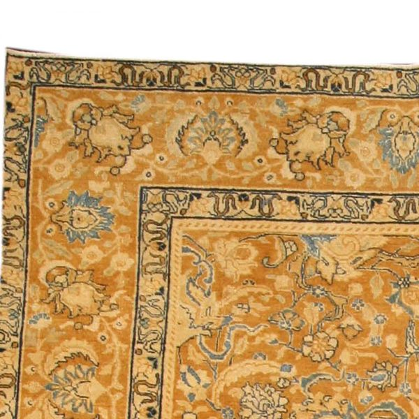 Antique Persian Tabriz Carpet BB3824