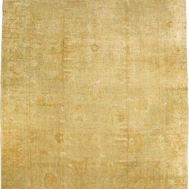 Antique Turkish Oushak Carpet (Size Adjusted) BB1692