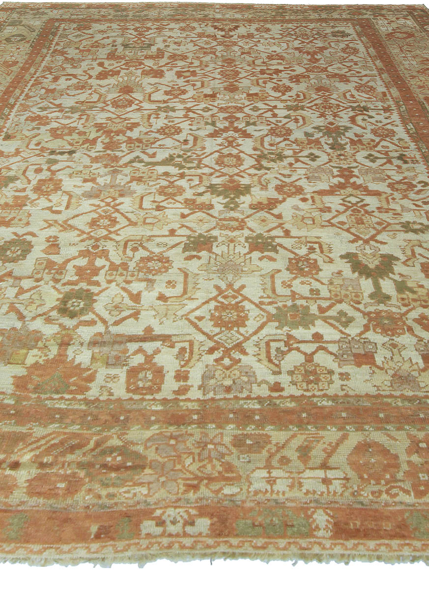 Antique Turkish Ghiordes Rug BB5357