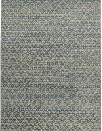 Blue Ornamental Rug N11600