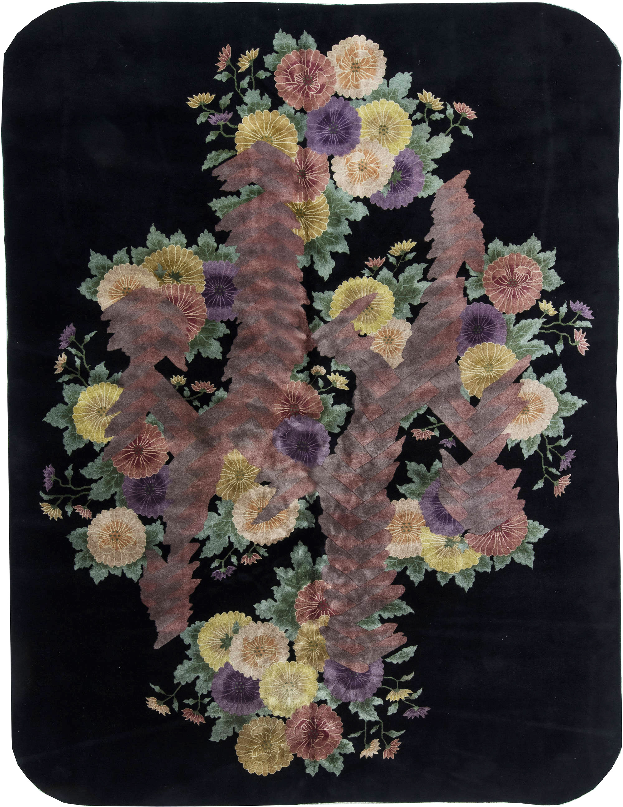 Chinese Deco Rug BB6359