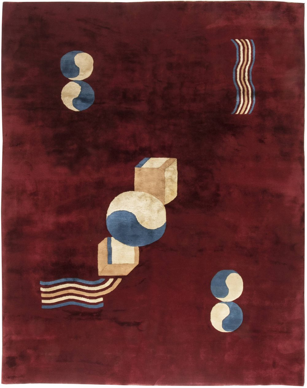 Chinese Deco Rug BB6459