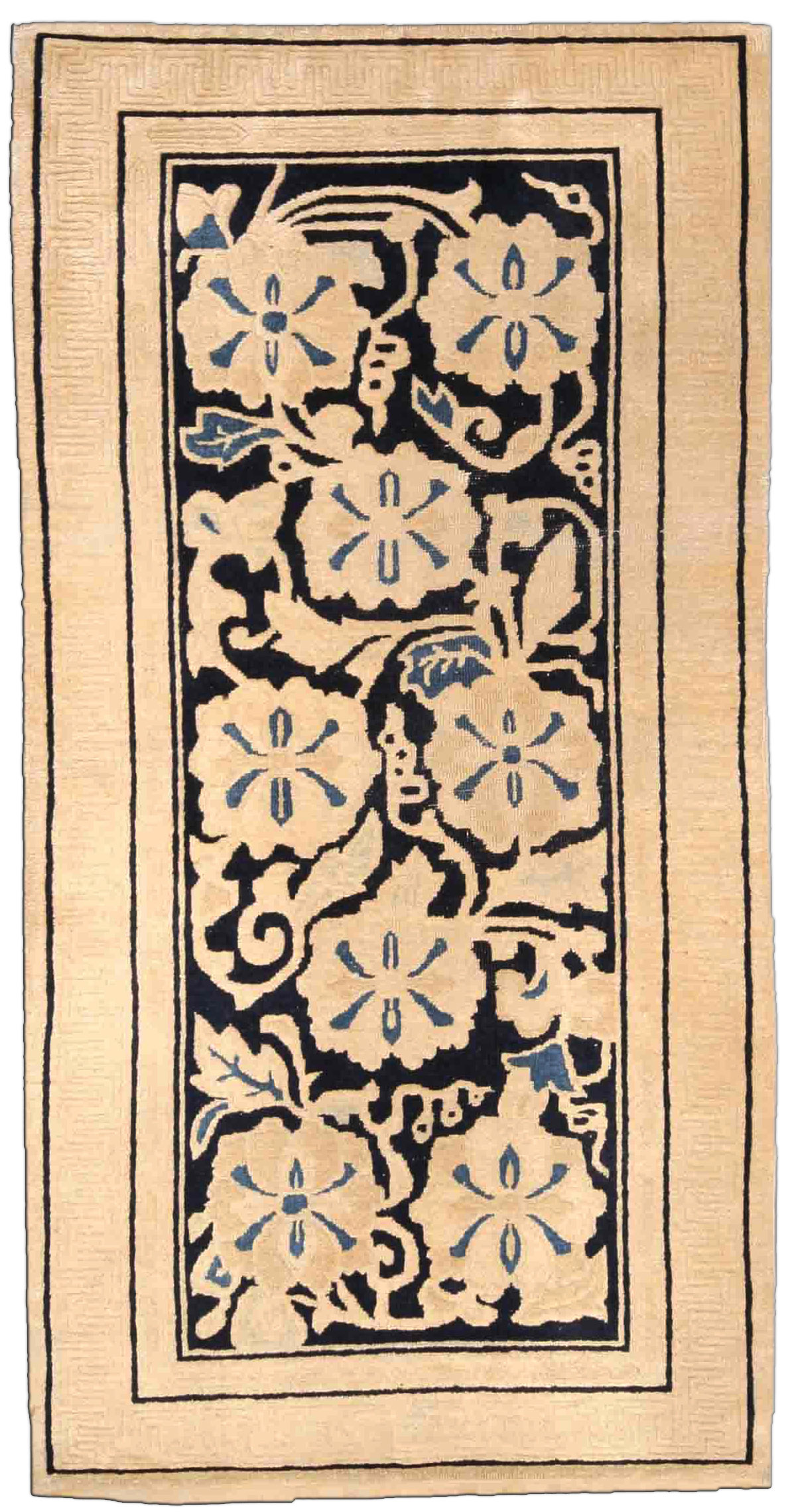 Vintage Chinese Art Deco Rug BB4181