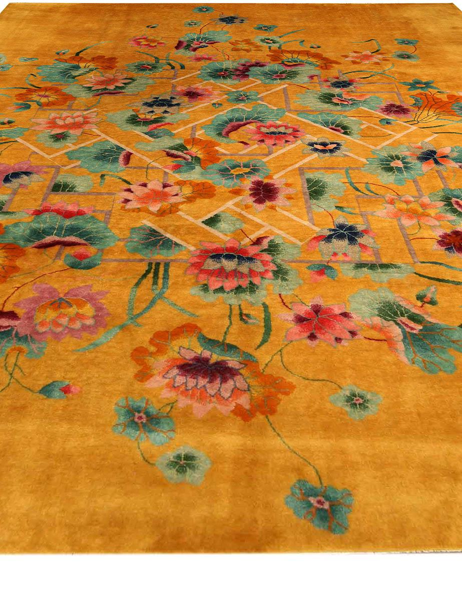 Vintage Chinese Deco Carpet BB4170