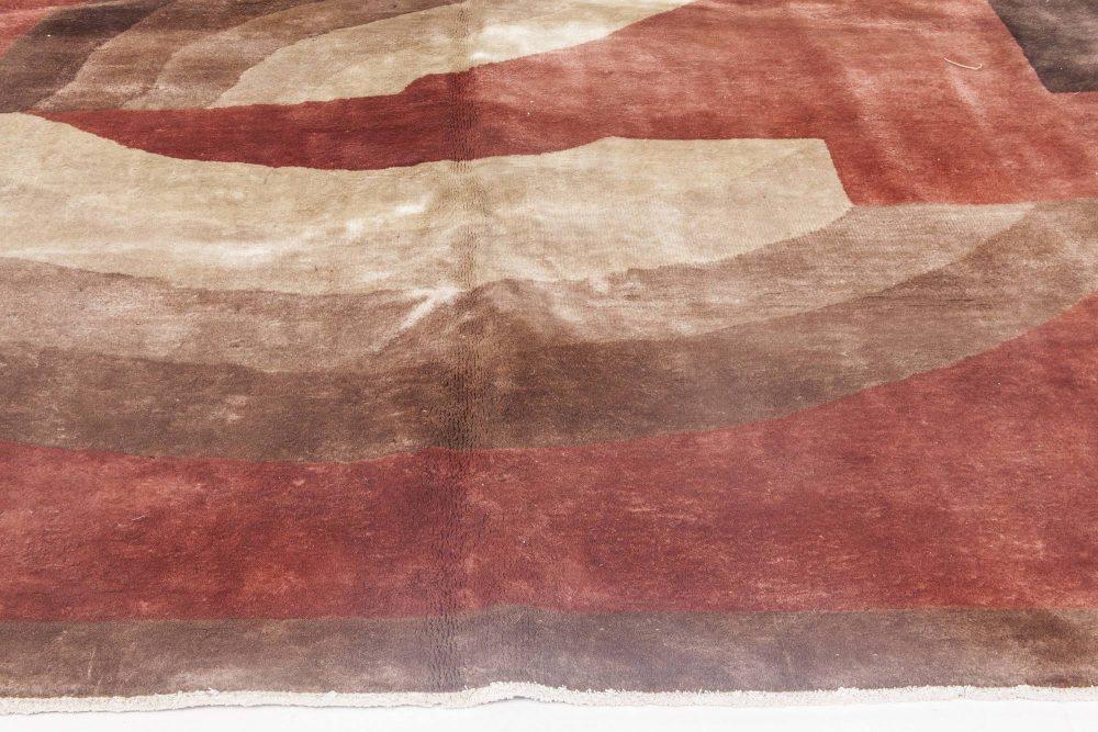 Vintage Chinese Deco Carpet BB4285