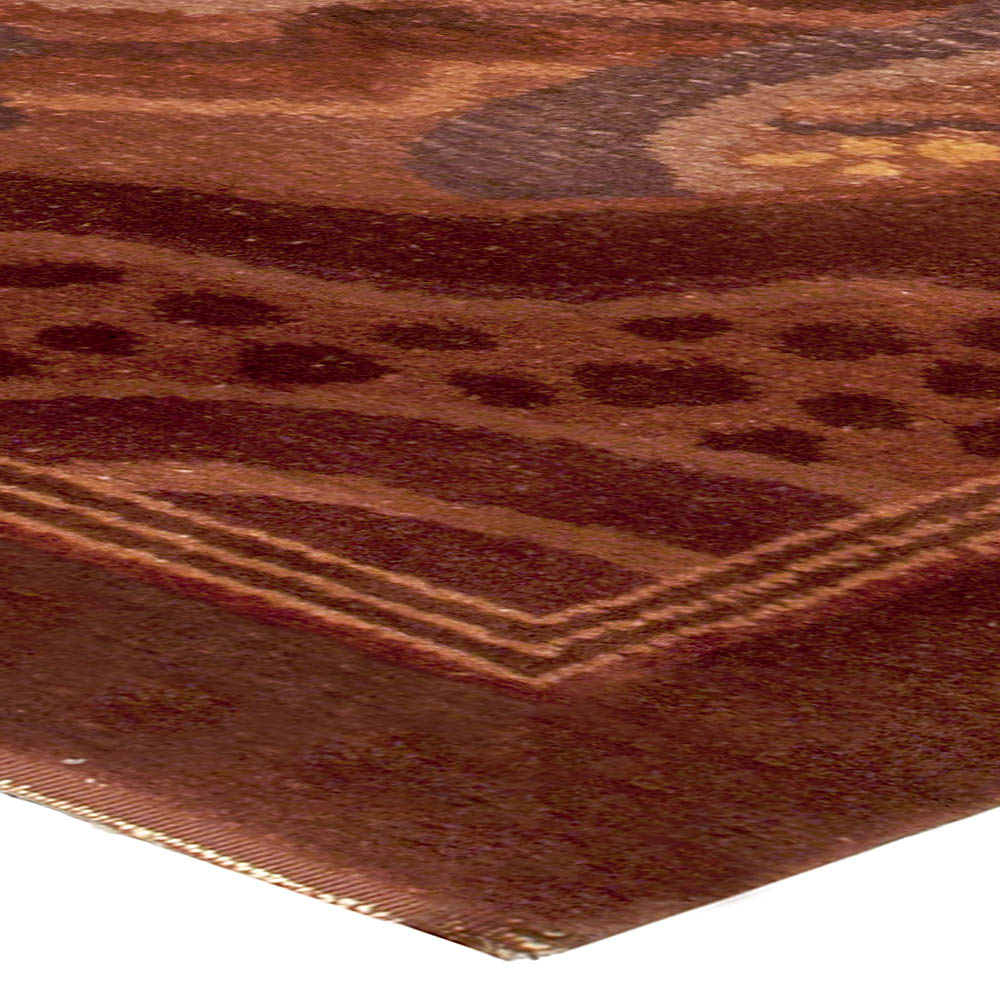 Vintage French Deco Rug by Paul Follot BB5243