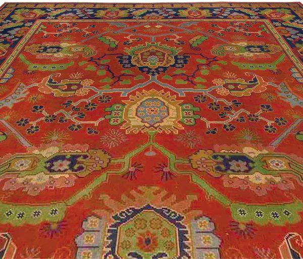 Alfombra Vintage Arts & Crafts diseñada por Gavin Morton BB2911