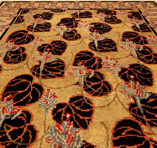 Vintage Irish Carpet BB1053