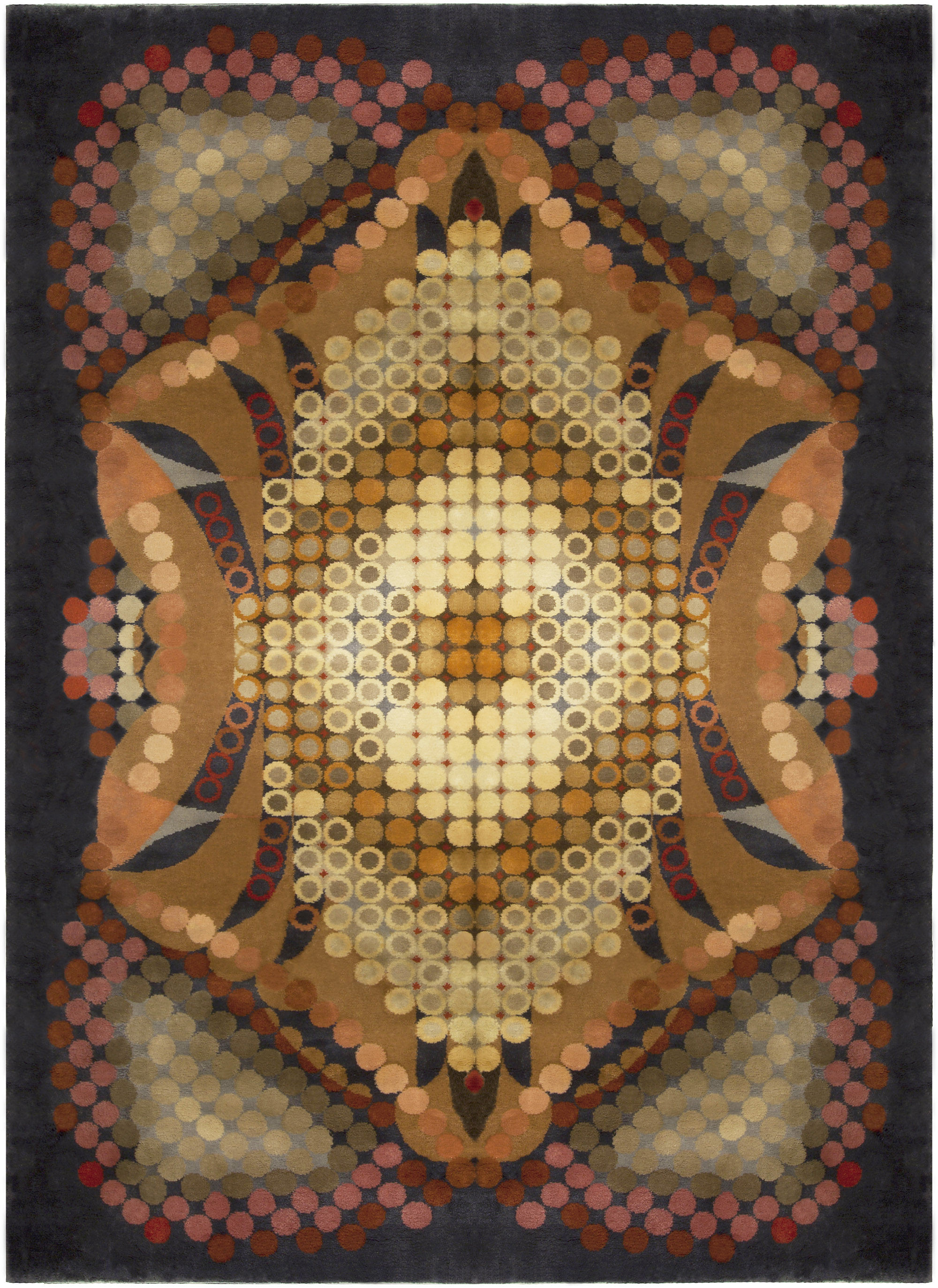Vintage French Deco Rug BB5110