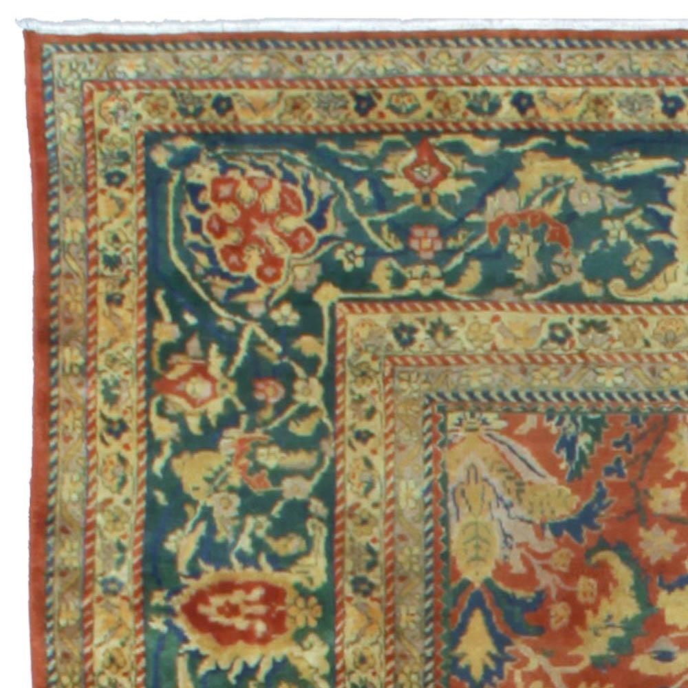 Antique Indian Rug BB5282