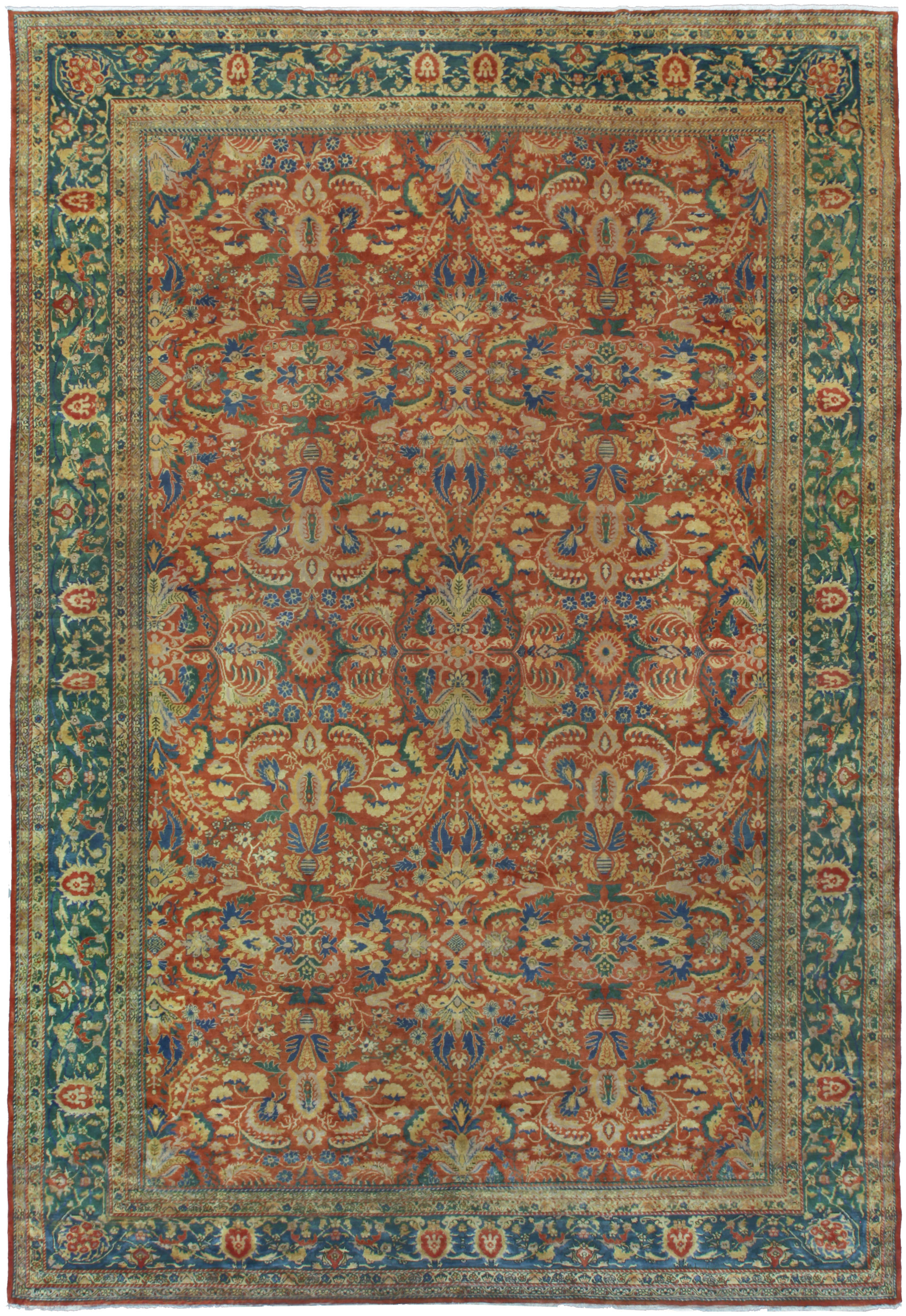 Antique Indian Rug BB5282