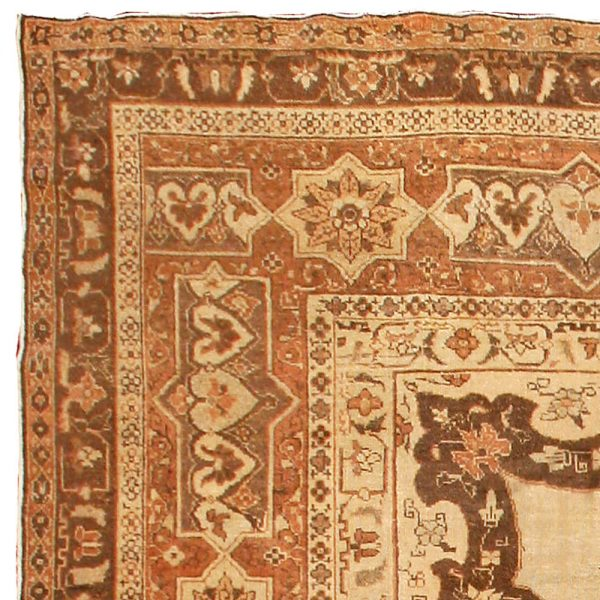 Antique Indian Amritsar Rug BB4344