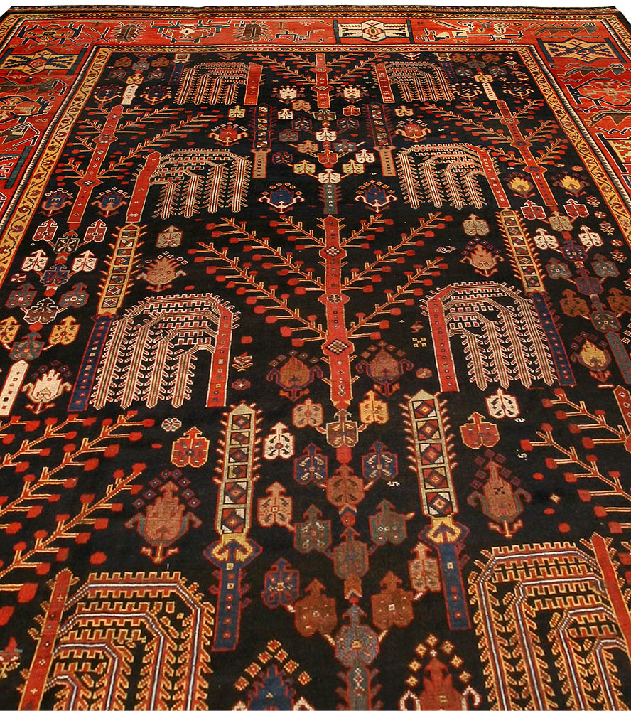 Antique Persian Bakhtiari Rug BB1427