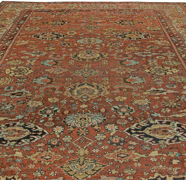 Antique Persian Sultanabad Rug BB5926