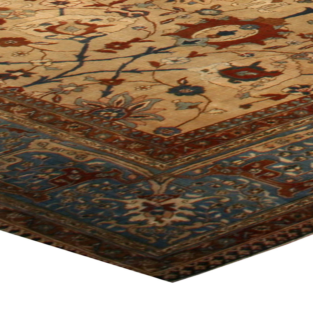 Antique Large Rug: Extra Large Antique Persian Tabriz Rug BB1400 By Doris