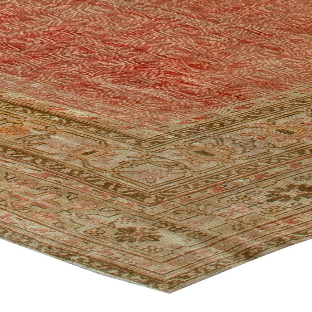 Antique Turkish Hereke Rug (Size Adjusted) BB5983