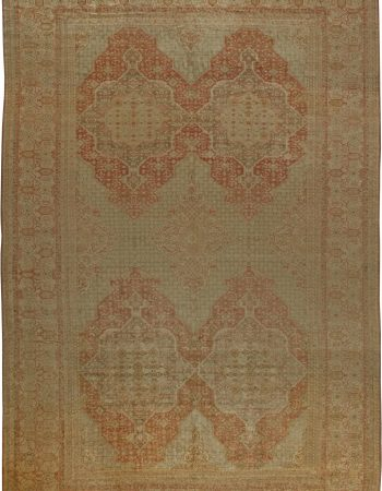 Oversized Antique Turkish Hereke Rug BB5981