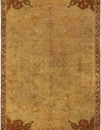Antique Turkish Oushak Rug (Size Adjusted) BB5267