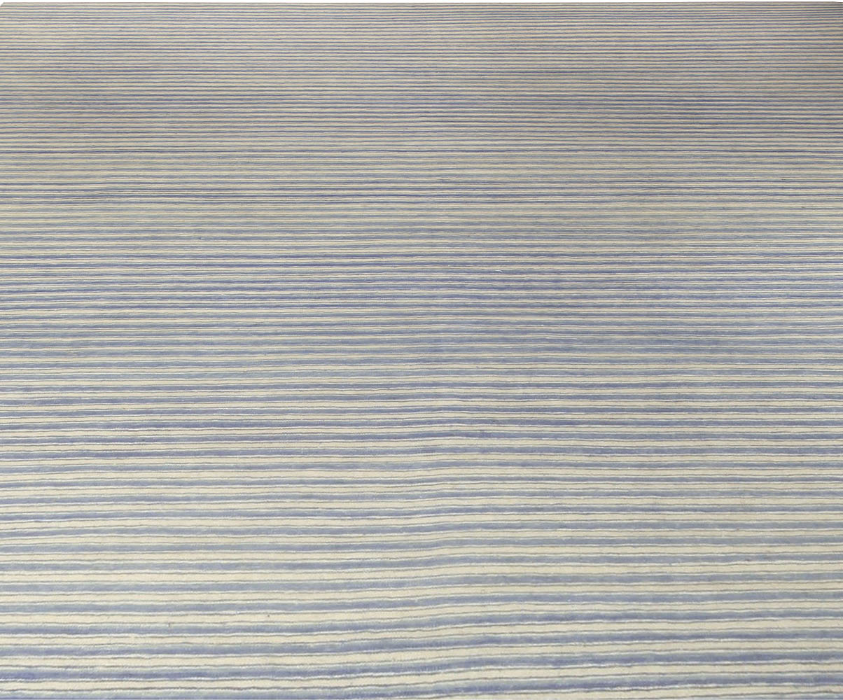 Blue Stripe Rug N10636