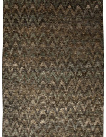 Contemporary Silk Rug N11533