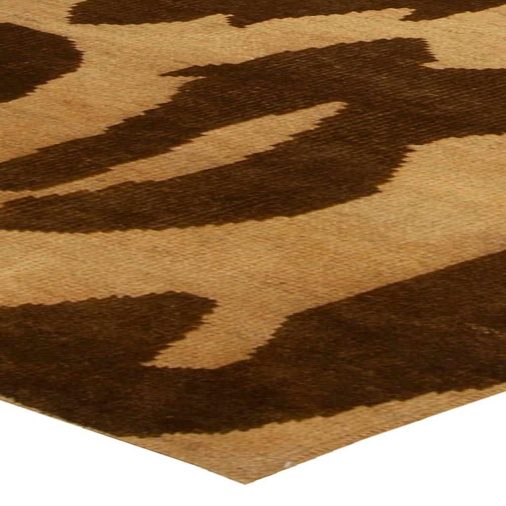 Modern Leopard Beige and Brown Rug N10232