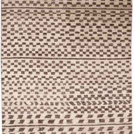 Tribal Style Moroccan Hand-knotted Wool Rug N10003
