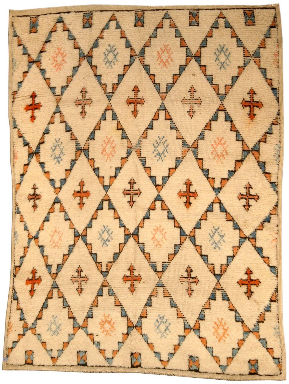 Vintage Moroccan Rug BB4553