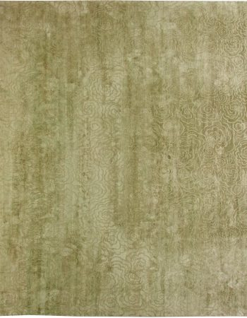 Grün Camelia Silk Wolldecke N10904