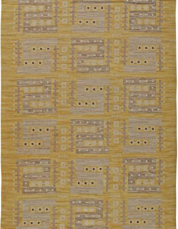 Vintage Swedish Flatweave Rug BB5841