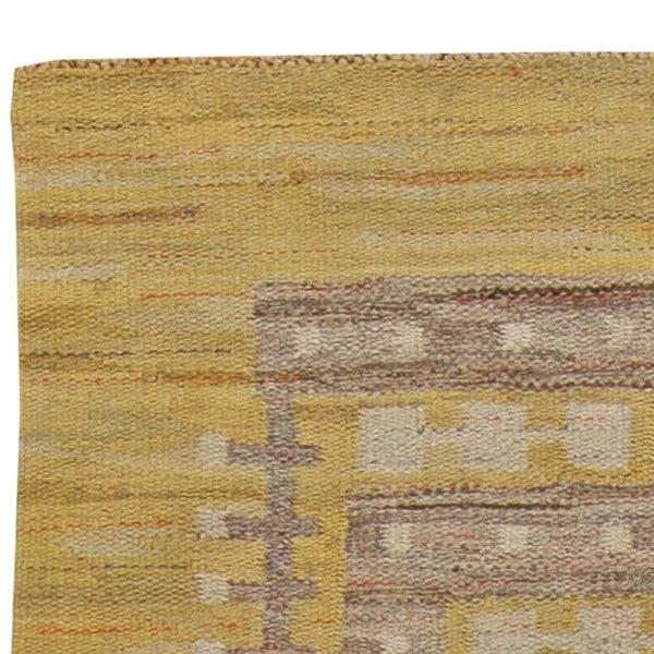 Vintage Swedish Flatweave Rug BB5841