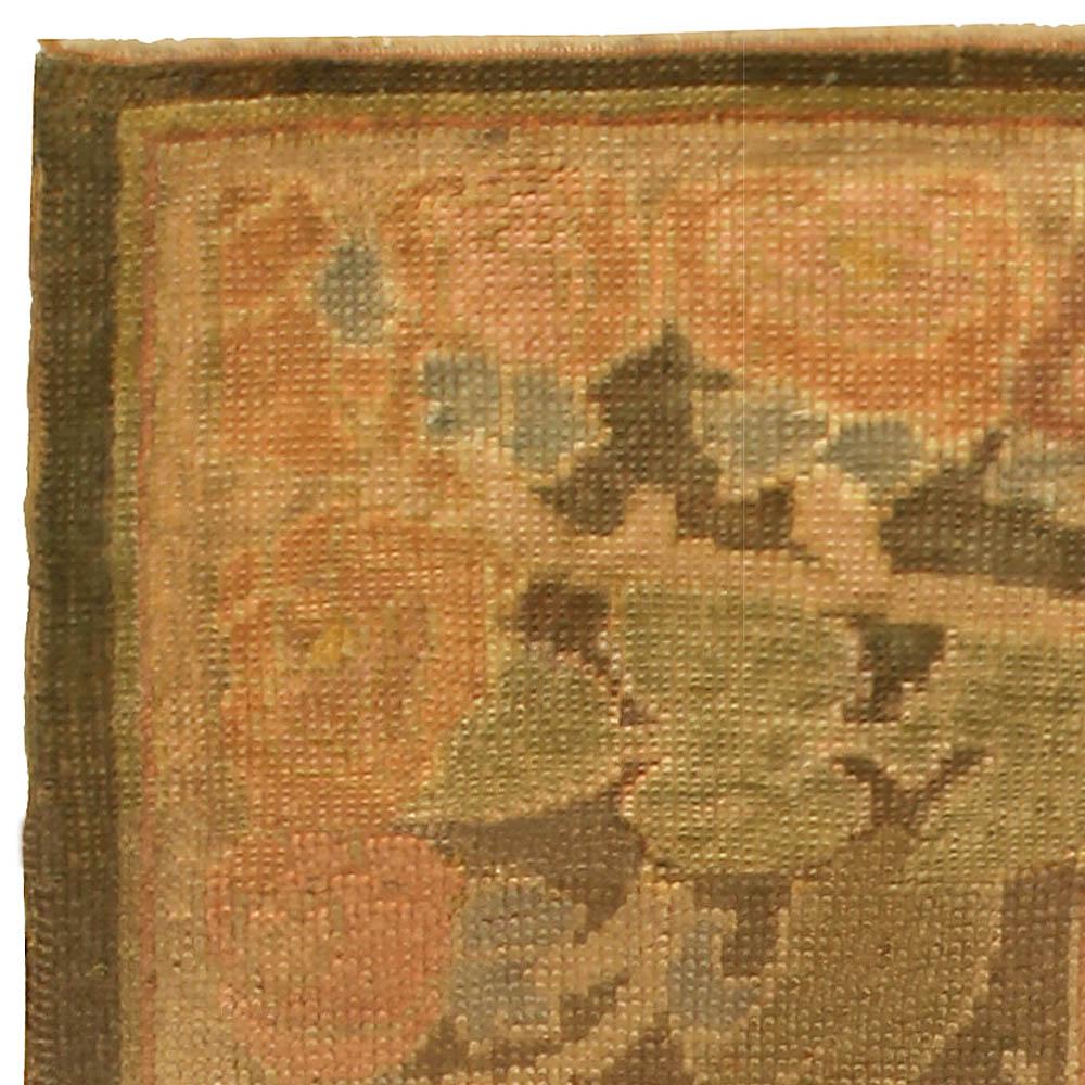 Vintage Arts & Crafts by Voysey Rug (Size Adjusted) BB5187