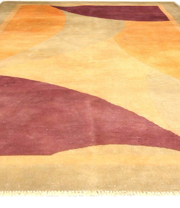 Vintage Chinese Art Deco Rug BB4753