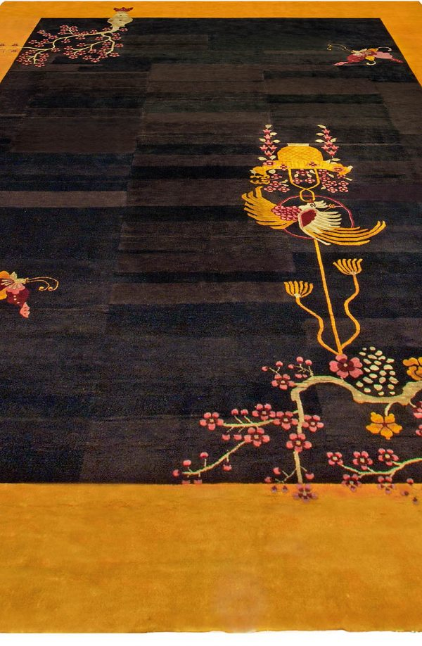 Vintage Chinese Deco Rug BB4822