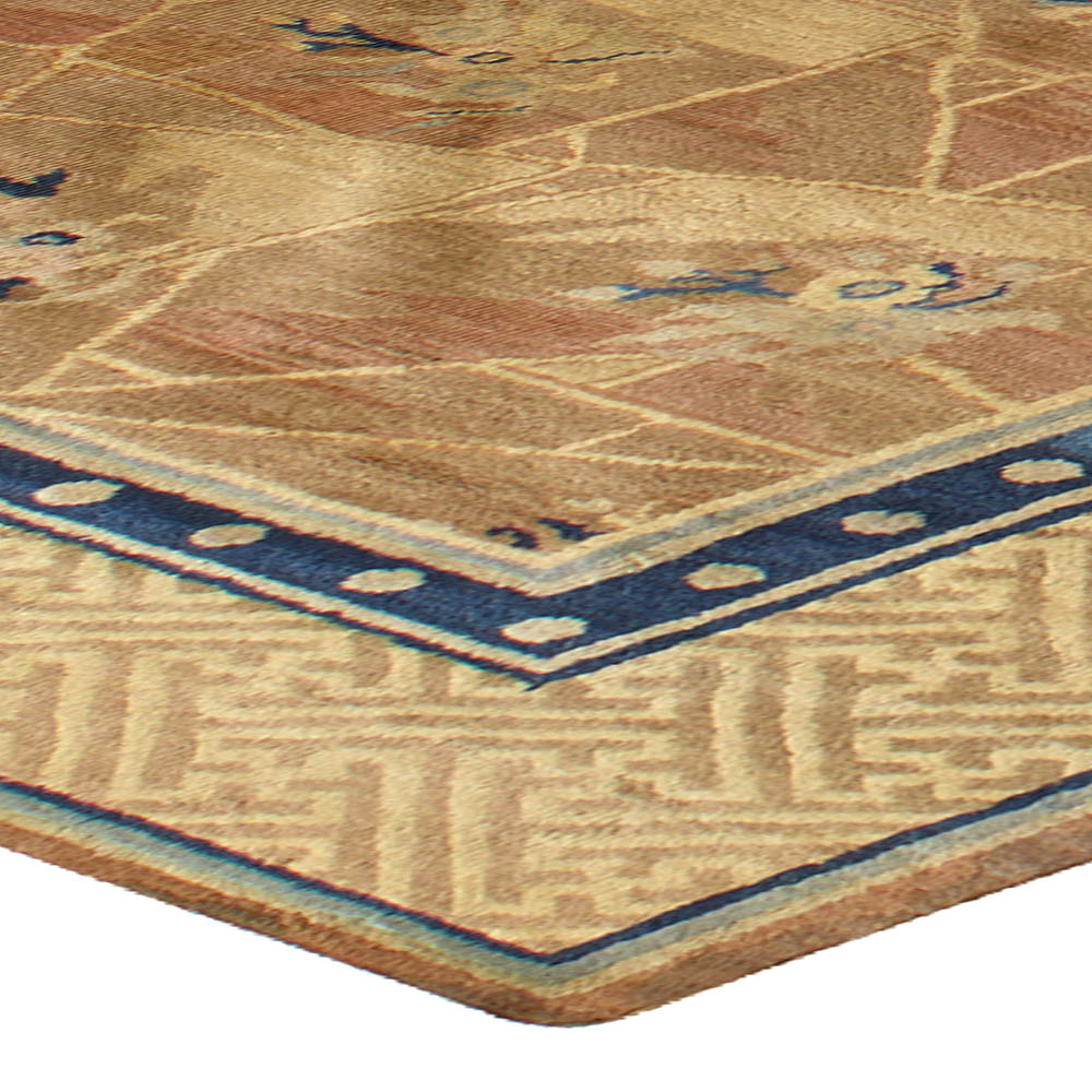 Antique Chinese Rug: Antique Chinese Rug BB4325 By Doris Leslie Blau
